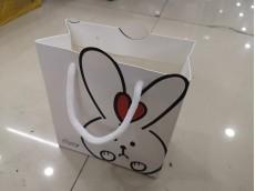 Bolsa de regalo chica 14x16x7.5 cm x unidad