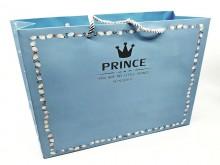 Bolsa de regalo Prince 27x31x12 cm x unidad