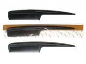 Peine negro de cola x 1