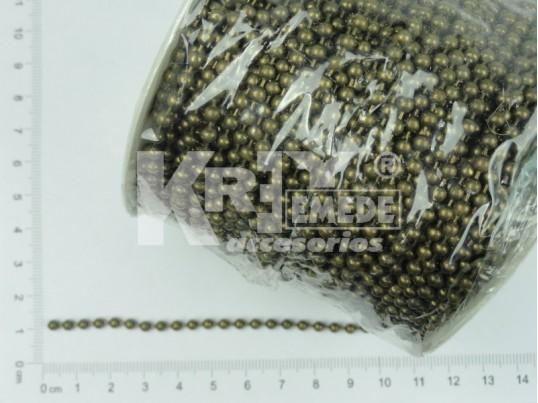 Cadena bolita 3.2 mm x 50 mts