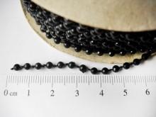 Perla plástica en carretel x 22,5 mts