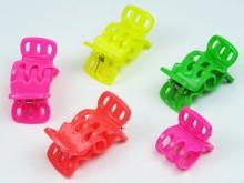 Broche 3D flúo