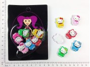 Set infantil agarrapelusas Kitty