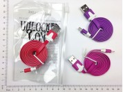 Cable USB Lightning liso iPhone 5-6