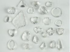 Figuras acrílicas facetadas surtidas x 427 gr