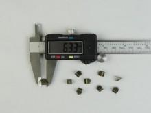 Apretador de cinta bronce (6 mm)