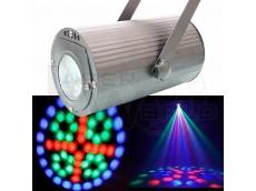 Proyector cañón led Ibiza RGB audiorítmico