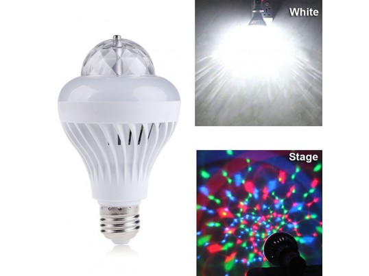 Lámpara led 2 en 1 blanca y RGB