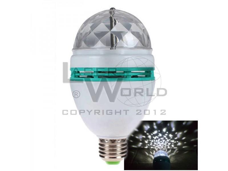 8641e219d33 Lámpara led BLANCA giratoria a rosca audioritmica E27 - Krey EmeDe ...