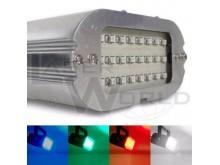 Mini flash estroboscópico audiorítmico 24 leds VERDE