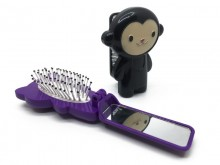Cepillo con espejo animalitos x 1